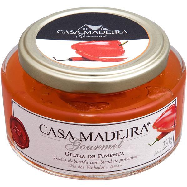 Geleia Gourmet Casa Madeira Pimenta 220G