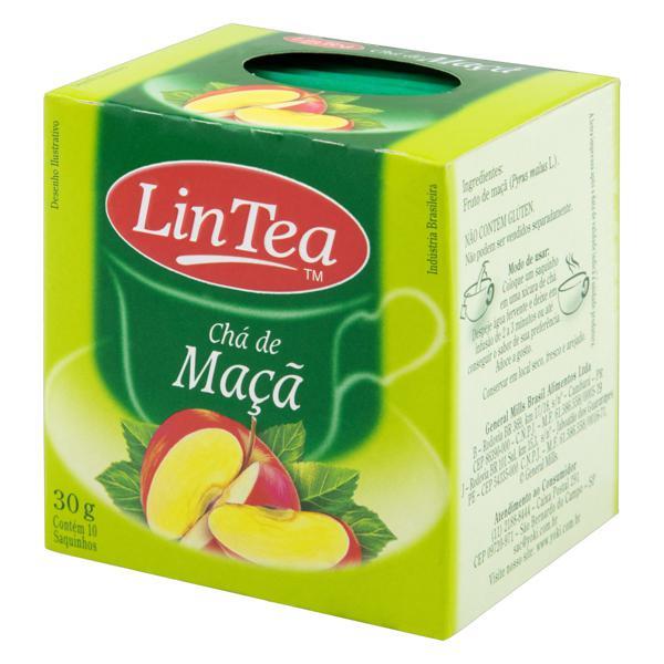Chá Maçã Lin Tea Caixa 30g 10 Unidades