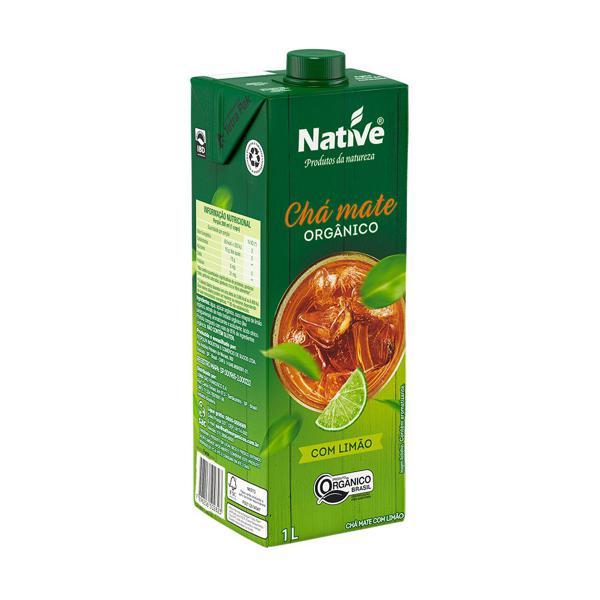 Chá mate com limão orgânico Native - 1 litro