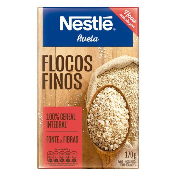 Aveia em Flocos Finos Nestlé Caixa 170g