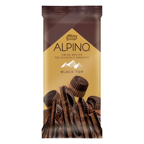 Chocolate Black Top Nestlé Alpino Pacote 90g