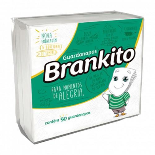 Guardanapo BRANKITO Plus 20Cmx22Cm 50 Unidades