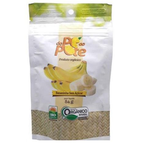 Saquinho de bananinha 84g