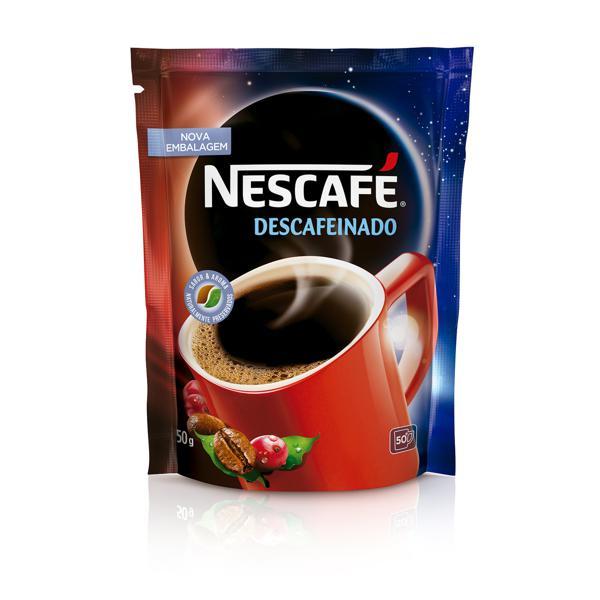 Café Solúvel Descafeínado NESCAFÉ Sachê 50g