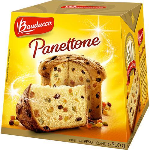 Panettone Bauducco Frutas 500G