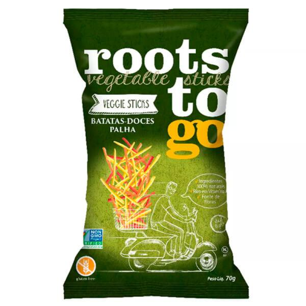 Chips Batata Doce Palha Roots 45g