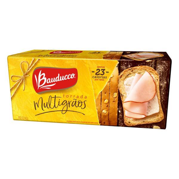Torrada Multigrãos Bauducco Pacote 142g