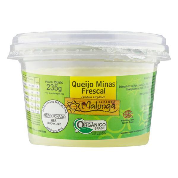Queijo Minas Frescal Orgânico Malunga 235g