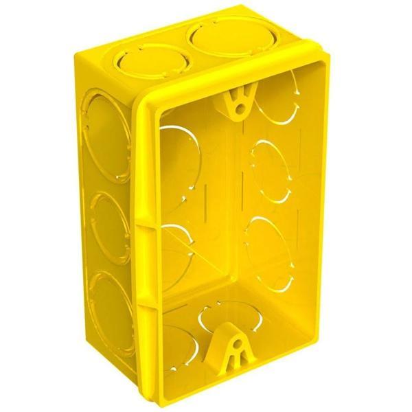 À vista 10% desc (boleto) - Caixa De Luz 4 X 2 Amarela