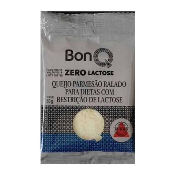 Queijo Parmesão Ralado Zero Lactose BONQ 50g