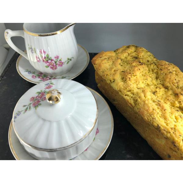 Pão Congelado de Abóbora, Manjericão e Pesto Sem Glúten (500g)