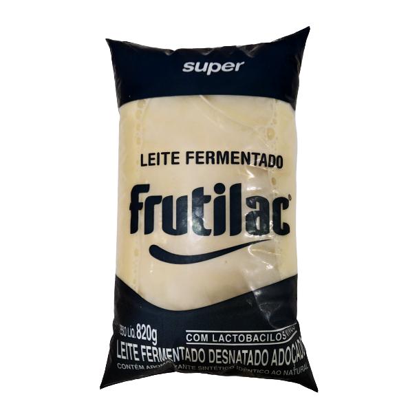 Leite Fermentado FRUTILAC Baunilha 820g