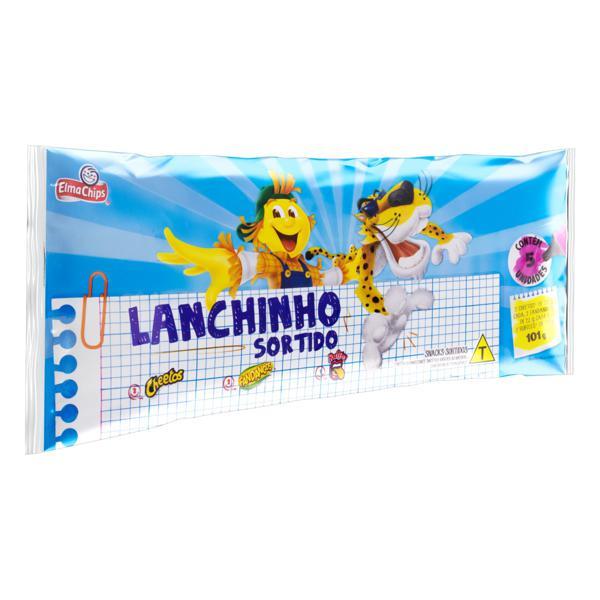 Kit Salgadinho Elma Chips Lanchinho Sortido  101g 5 Unidades