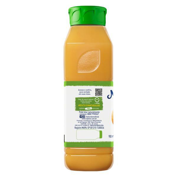 Suco Integral Laranja Natural One Garrafa 900ml
