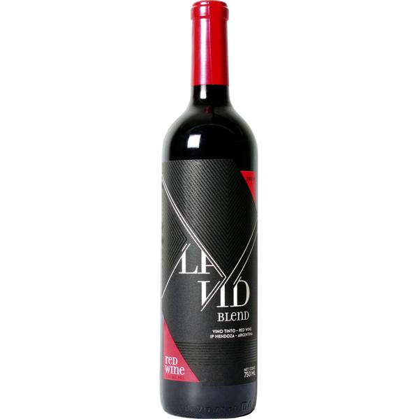 Vinho Argentino La Vid Blend Red Wine 750 Ml