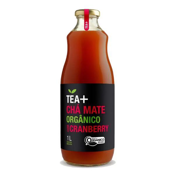 Chá Mate com Cranberry Orgânico 1L - Tea+