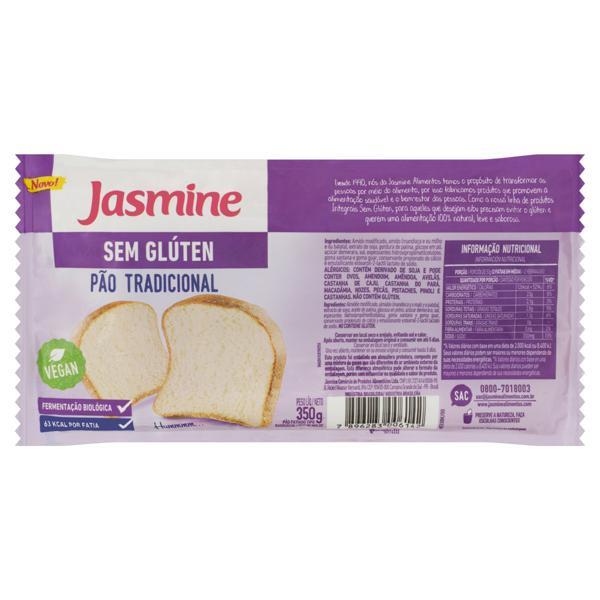 Pão de Sanduíche Tradicional sem Glúten Jasmine Pacote 350g