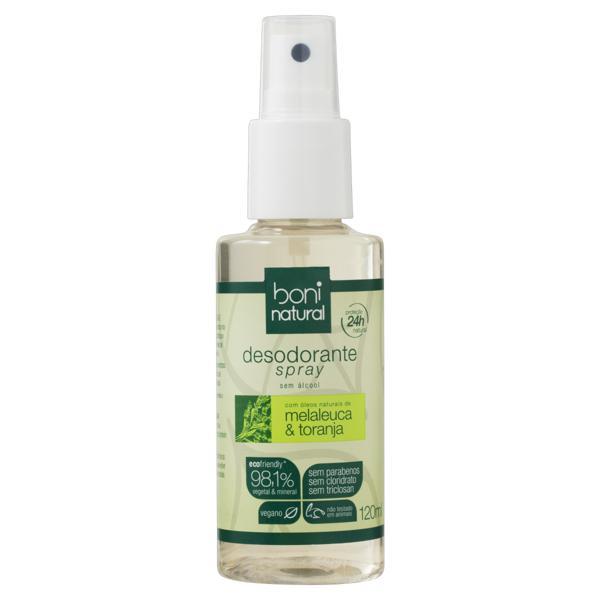 Desodorante Spray Melaleuca & Toranja Boni Natural 120ml
