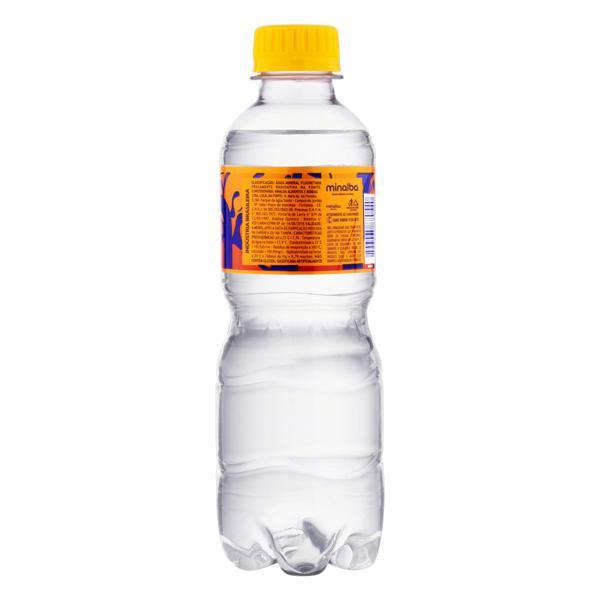Água Mineral Natural com Gás Minalba Garrafa 310ml