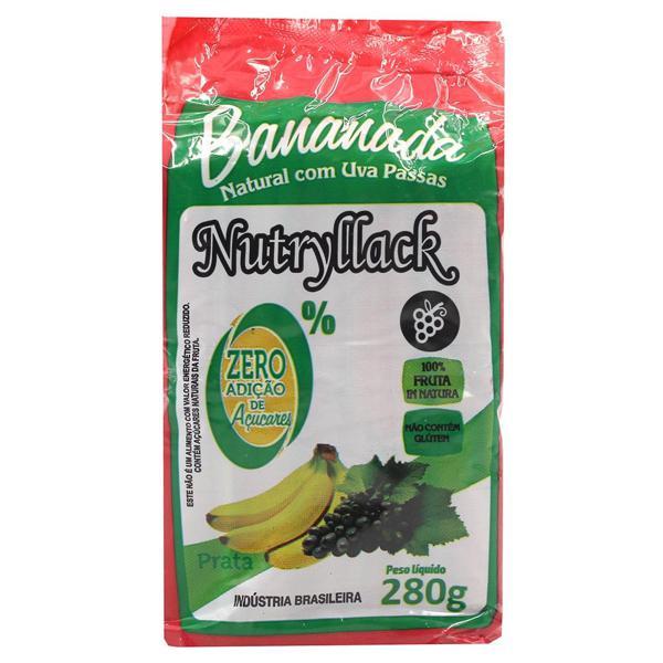 Bananada NUTRYLLACK Com Uva Passa 28g