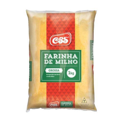 Farinha Milho Cbs 1Kg Grossa