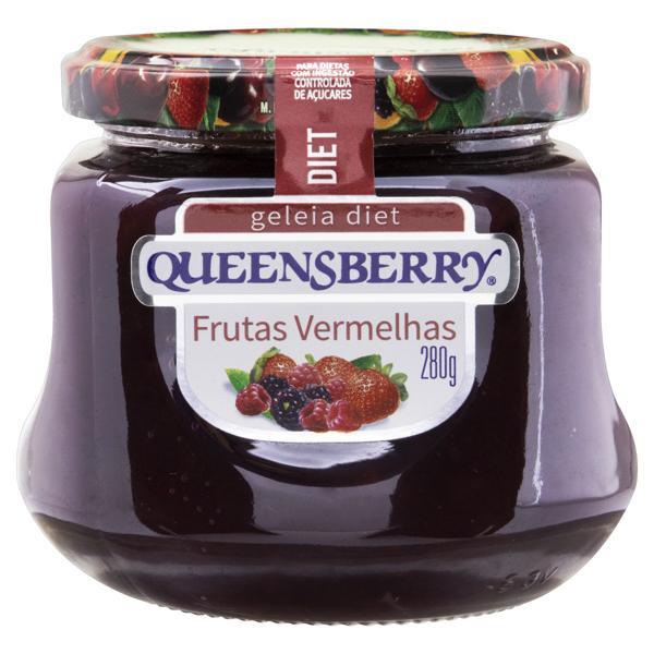 Geleia Frutas Vermelhas Diet Queensberry Vidro 280g