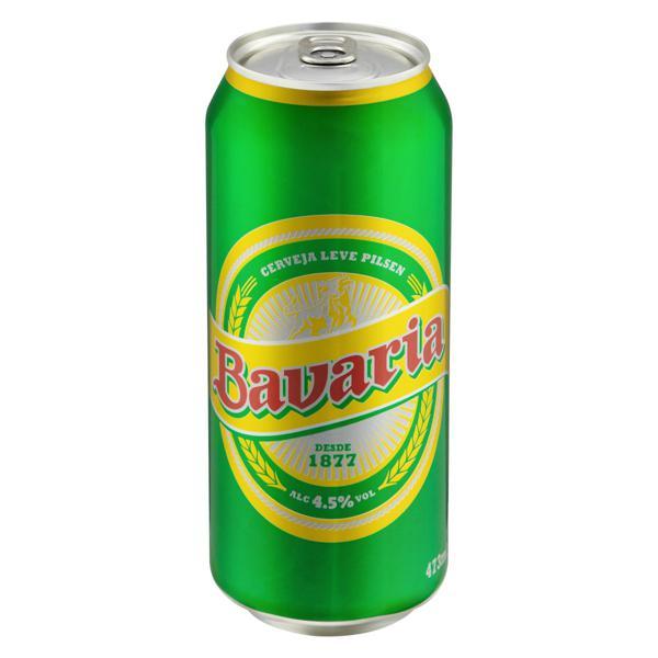 Cerveja Pilsen Bavaria Lata 473ml