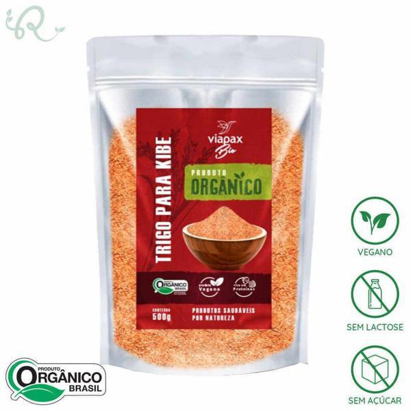 Trigo Para Kibe Orgânico 500g - Viapax