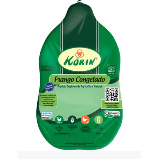 Frango Inteiro Orgânico Korin (Peso médio unidade = 2,2Kg)