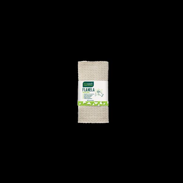 Flanela de algodão orgânico