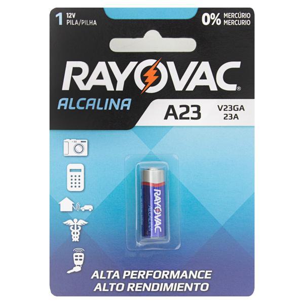 Pilha Alcalina A23 Rayovac 12V
