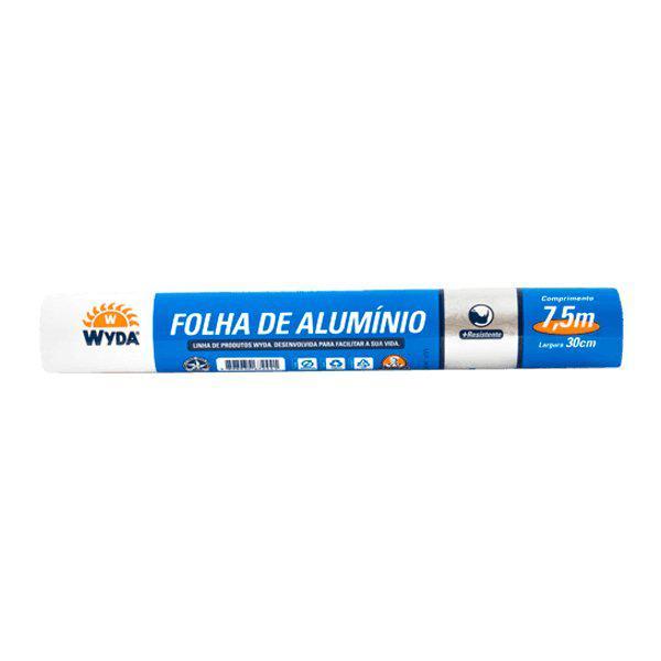 Papel Aluminio WYDA 30cm x 7,5m