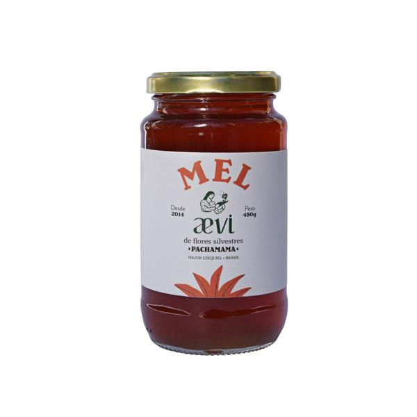 Mel Agroecológico Florada silvestre 480g - Mel Aevi