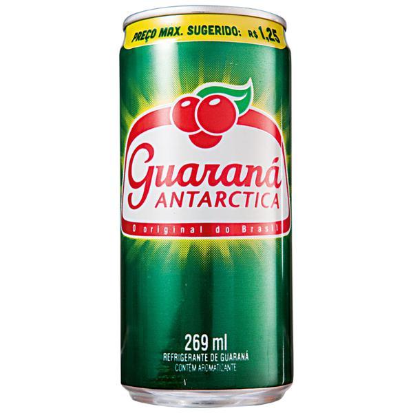 Refrigerante ANTARCTICA Guaraná Lata 269ml