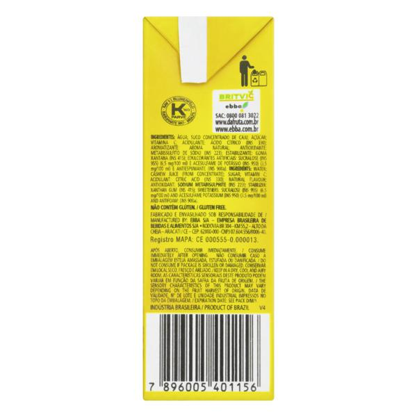 Néctar Caju Dafruta Premium Caixa 200ml