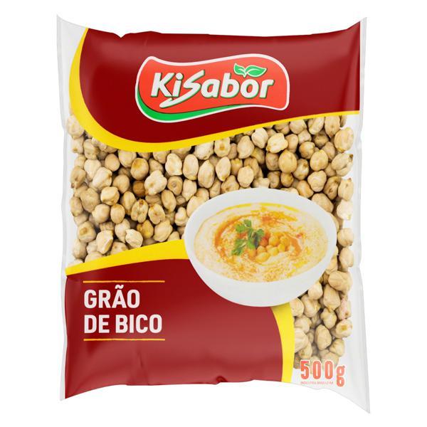 Grão-de-Bico Kisabor Pacote 500g