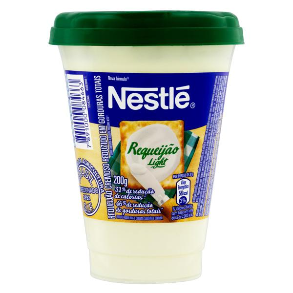 Requeijão Cremoso Light Nestlé Copo 200g