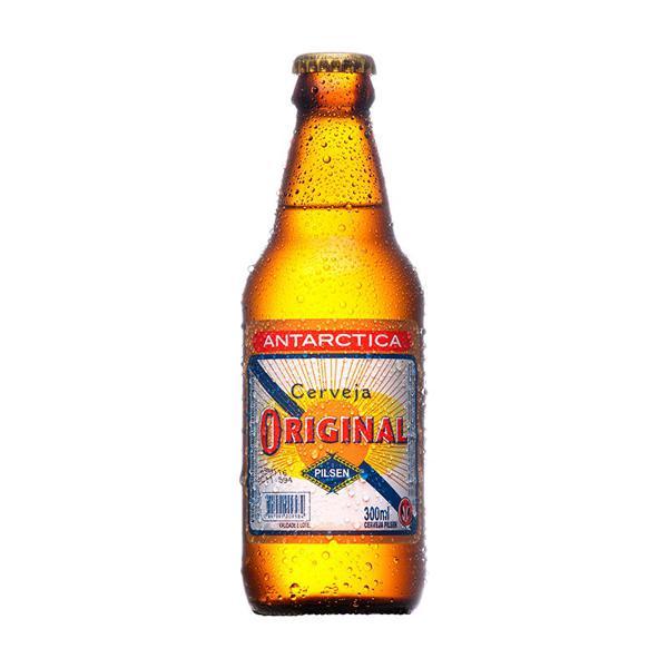 Cerveja Antarctica Original Pilsen 300Ml Garrafa