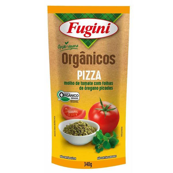 Molho de Tomate Fugini Orgânico 340g Sabor Pizza