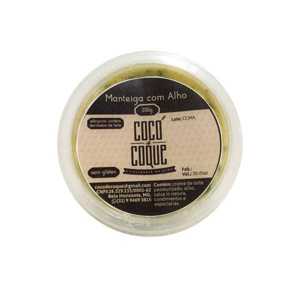 Manteiga de alho 200g - Cocó de coque