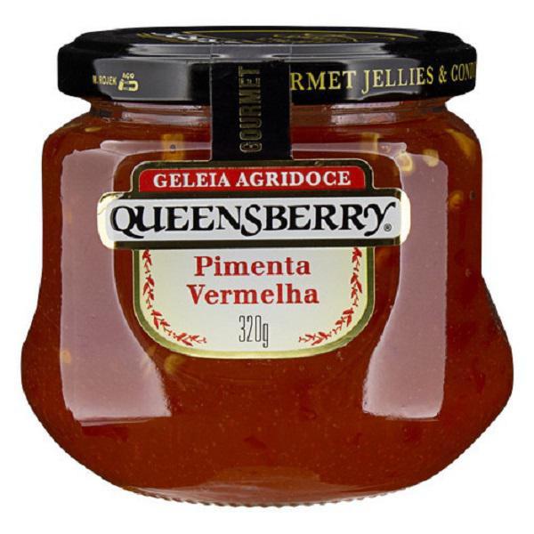 Geleia Queensberry Gourmet 320G Pimenta Vermelha