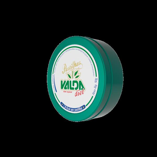 Valda Diet Pastilha Lata ( 50g) Produto Natural