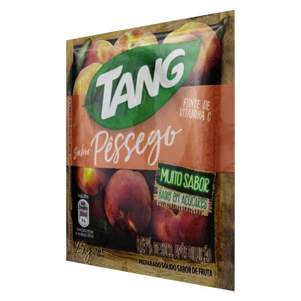 Refresco em Pó Pêssego Tang Pacote 25g