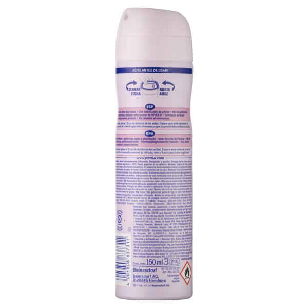 Antitranspirante Aerossol Nivea Pearl & Beauty 150ml