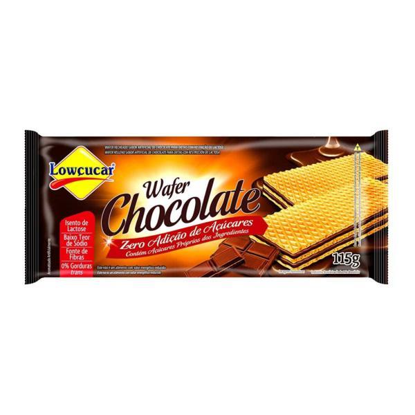 Biscoito Waffer Zero Açúcar Lowçúcar Chocolate 115G