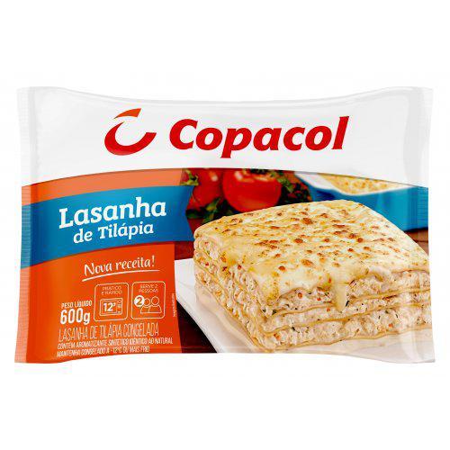 Lasanha De Tilápia Copacol 600g