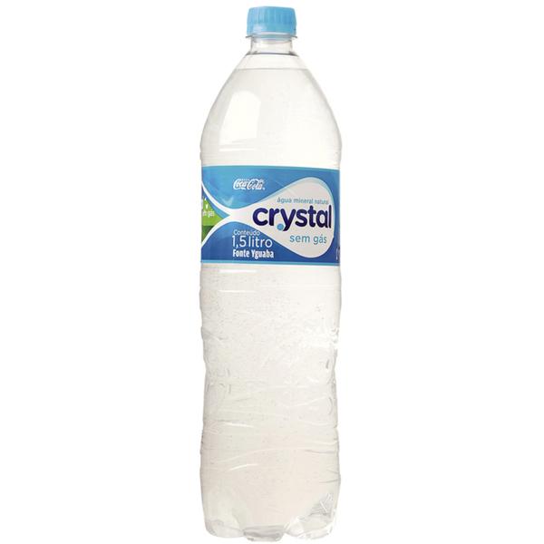Agua  CRYSTAL Sem Gás 1,5L