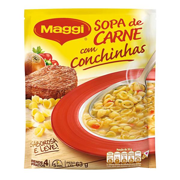 Sopa MAGGI Carne 63g
