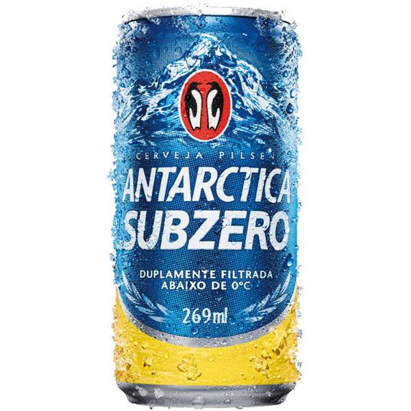 Cerveja ANTARCTICA Subzero Lata 269ml