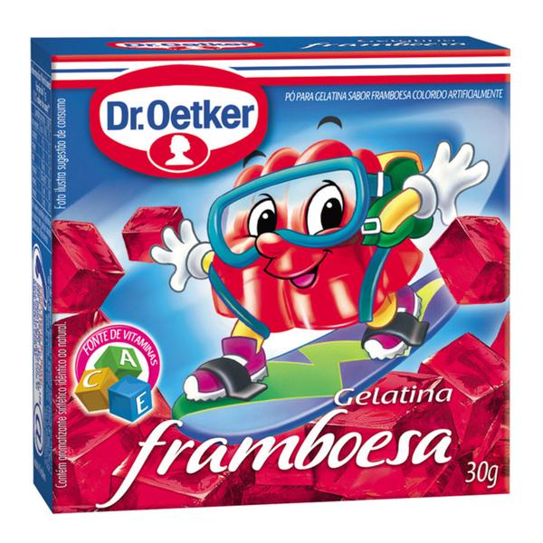 Gelatina em Pó DR.OETKER Framboesa 30g